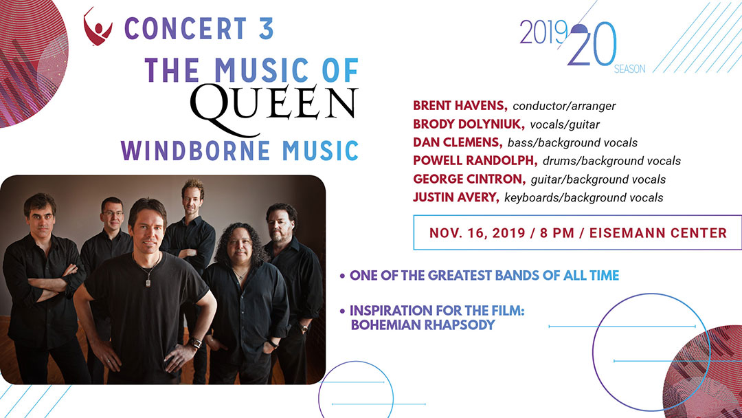 The Music of Queen - Windborne Music